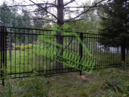 Сварной секционный забор